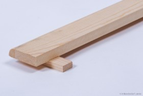 Ansteck-Flugbrett aus Holz