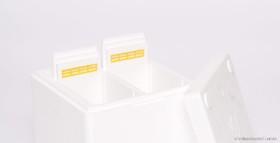 BiVo-Box Erhöhungsring mit zwei Trennschieden
