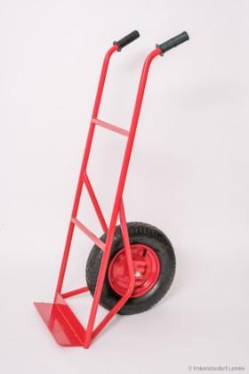 Wanderkarre mit einem Rad und kurzem Teller