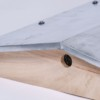 Ablegerkasten Satteldach mit Blechbeschlag