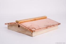 Ablegerkasten Satteldach mit Kupferbeschlag