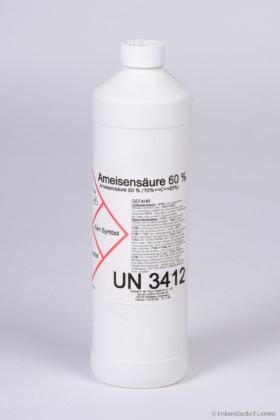 Ameisensäure 60 %, 1 kg Flasche