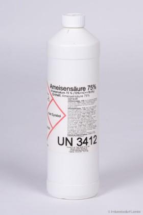 Ameisensäure 75 %, 1 kg Flasche