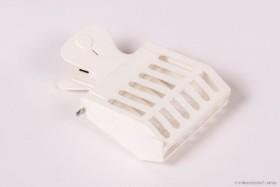 Abfangkäfig CLIP aus weißem Plastik