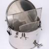 ApiNord® Unterstell Siebkanne Grande 40 kg mit Spannverschlussdeckel