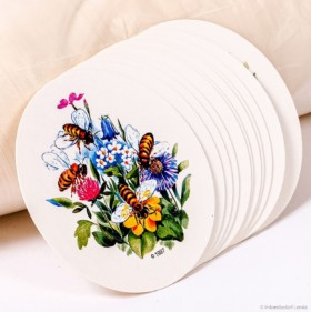 Flores Deckeleinlagen Kleinpackung