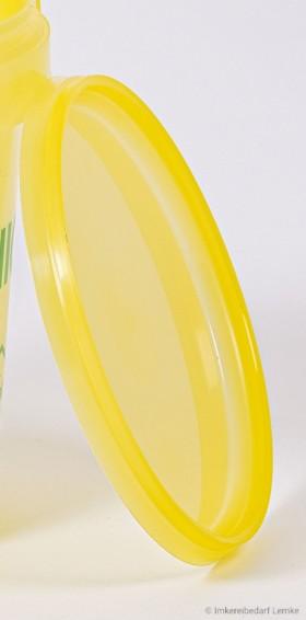 Ersatz-Deckel gelb für 1 kg Plastik-Eimer