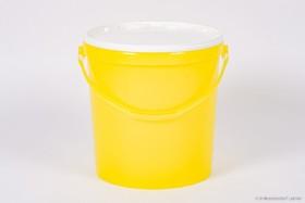 Honig-Eimer 25 kg Plastik gelb