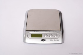 Elektronische Edelstahl Waage 5 kg mit Taraausgleich