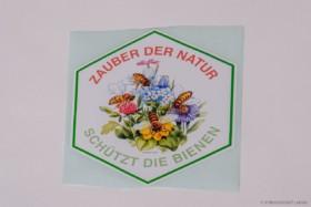 """Flores Autoaufkleber """"Schützt die Bienen"""""""