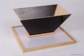 Beuten-Einkehrtrichter mit Platte Liebig