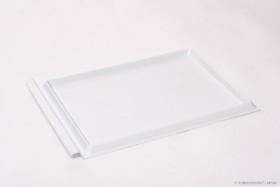 Liebig / Herold Bodenschieber weiß für Flachboden, Kunststoff