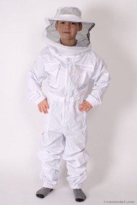 BienoProtect Kinder-Schutzanzug white