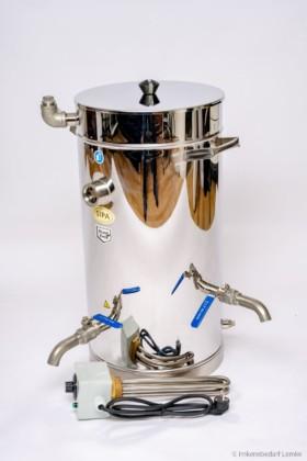SIPA® Wachsklärbehälter 37 l, 230 V / 2 kW