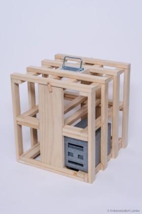 Apidea Begattungskasten - Tragegestell für 8 Kästen