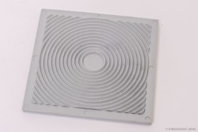 Gummi Saugplatten 80 x 80 mm, 3er Pack