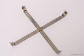 ApiNord® Lagerkübel Stapelhilfe, Edelstahl Kreuz