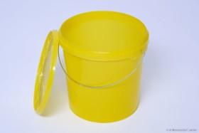 Imgut® Futtereimer 10 Liter - Futtereimer 10 Liter mit Siebdeckel